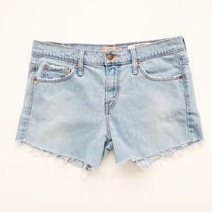 Levi 515 Cut off Jean Shorts Light Wash Size 12